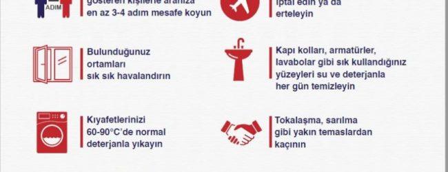 Sağlık Bakanlığı Corana (Covid 19) dan Korunma önerileri